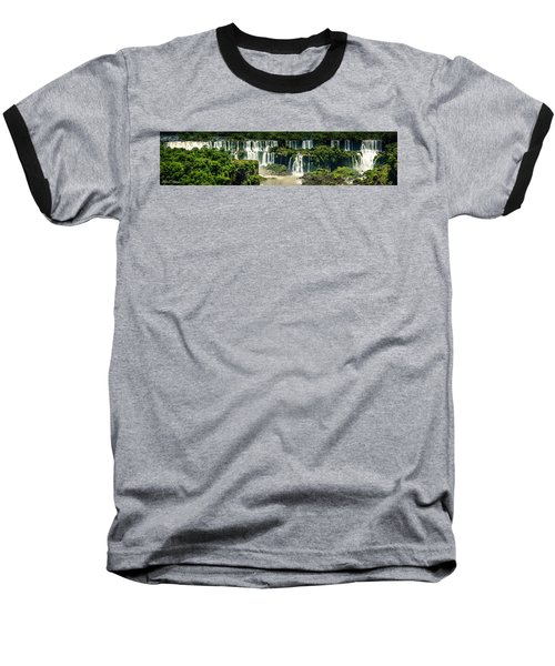 Baseball T-Shirt featuring the photograph The Mighty Iguazu  by Andrew Matwijec