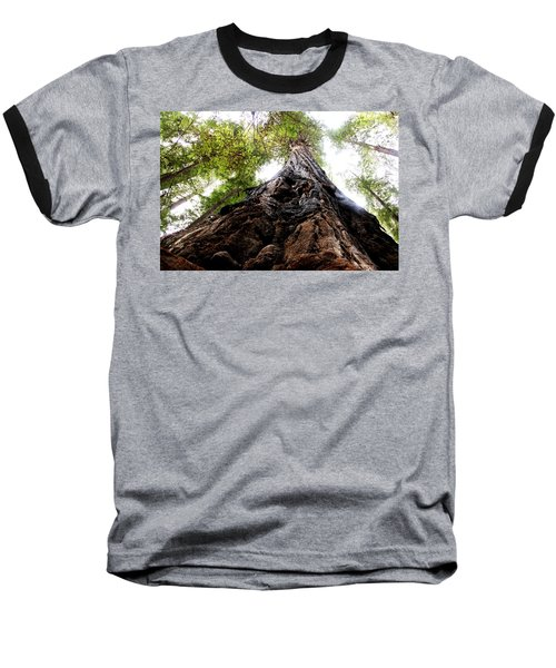 The Mighty Redwood Baseball T-Shirt