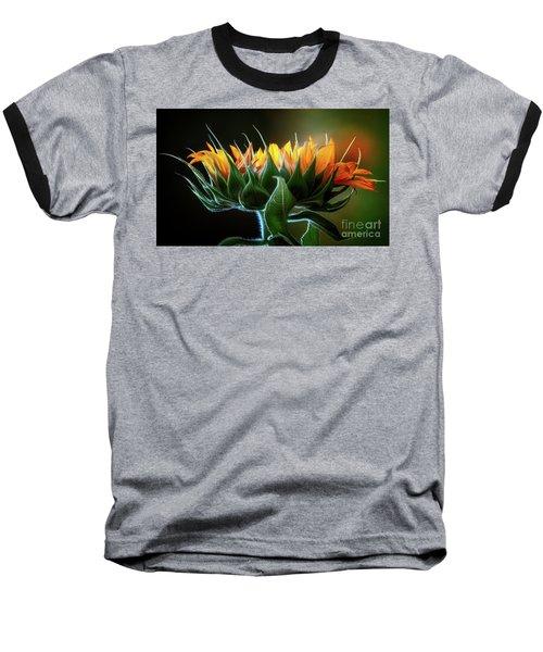 The Mighty Sunflower Baseball T-Shirt
