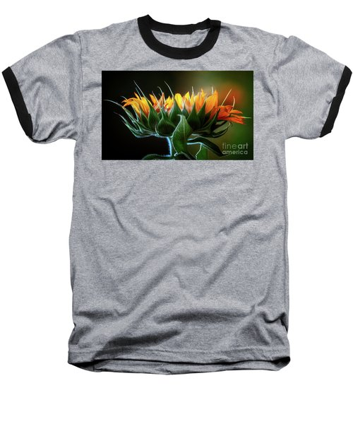 The Mighty Sunflower Baseball T-Shirt