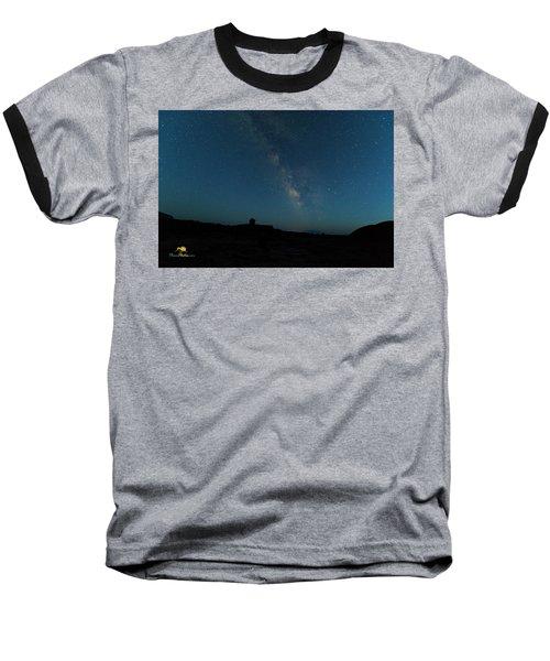 The Milky Way At Goblin Valley Baseball T-Shirt