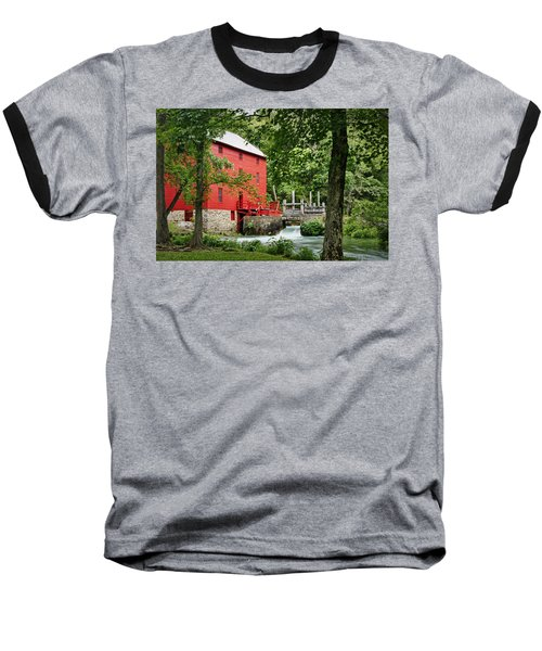 The Mill At Alley Spring Baseball T-Shirt