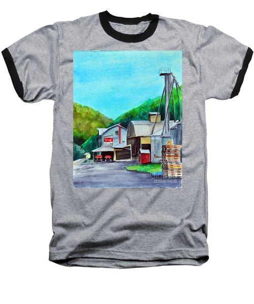 The Mill At Shade Gap II Baseball T-Shirt