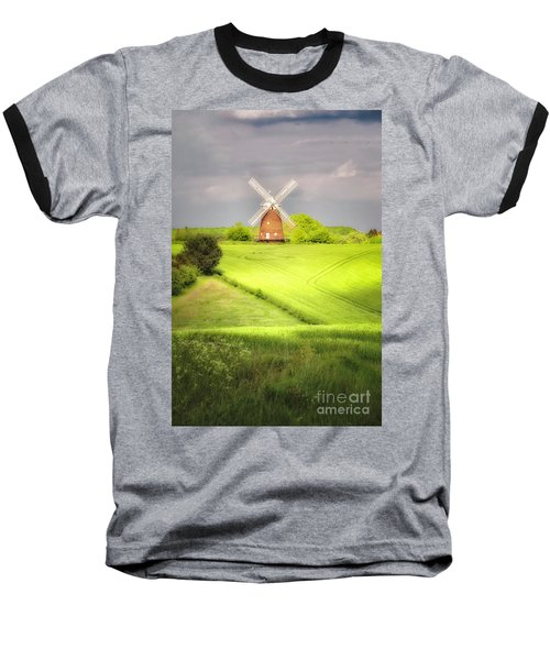 The Mill Uphill Baseball T-Shirt by Jack Torcello