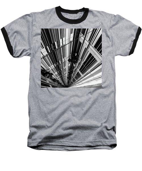 The Mirror Room Baseball T-Shirt by Karen Lewis