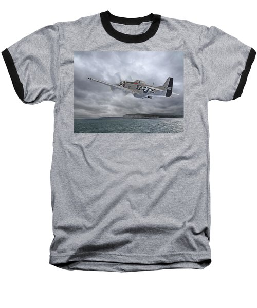 The Mission - P51 Over Dover Baseball T-Shirt