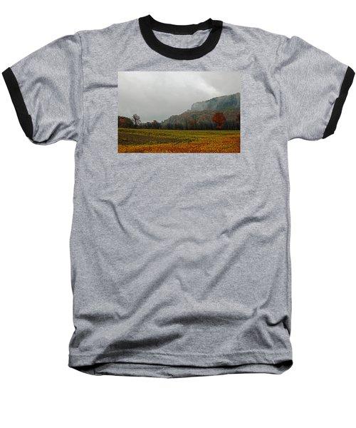 The Mist Baseball T-Shirt by John Stuart Webbstock