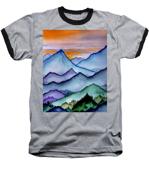 The Misty Mountains Baseball T-Shirt
