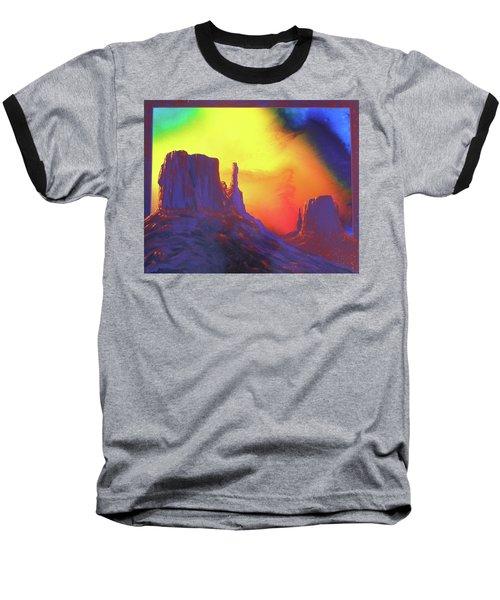 The Mittens , Psalm 19 Baseball T-Shirt by Alan Johnson