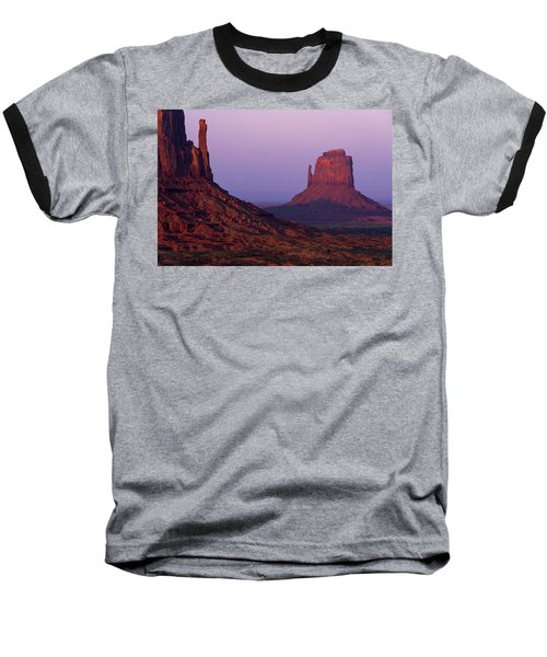 Baseball T-Shirt featuring the photograph The Mittens by Chad Dutson