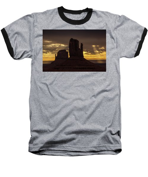 The Mittens Sunrise Baseball T-Shirt