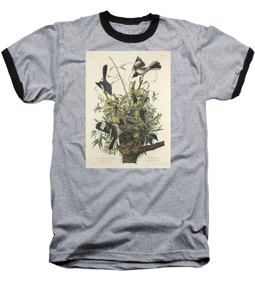 The Mockingbird Baseball T-Shirt by Rob Dreyer