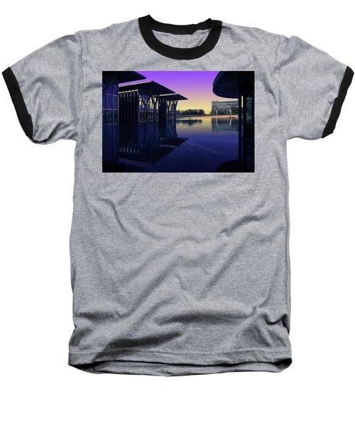 The Modern, Fort Worth, Tx Baseball T-Shirt by Ricardo J Ruiz de Porras
