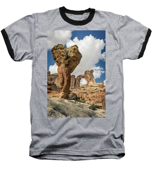 The Molar And Angel Arch Baseball T-Shirt