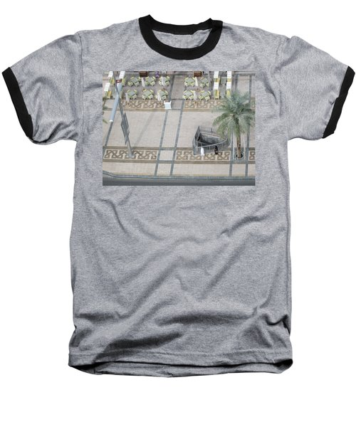 Baseball T-Shirt featuring the photograph The Money Is Here But Where Are All The People Besides These Two by Marie Neder