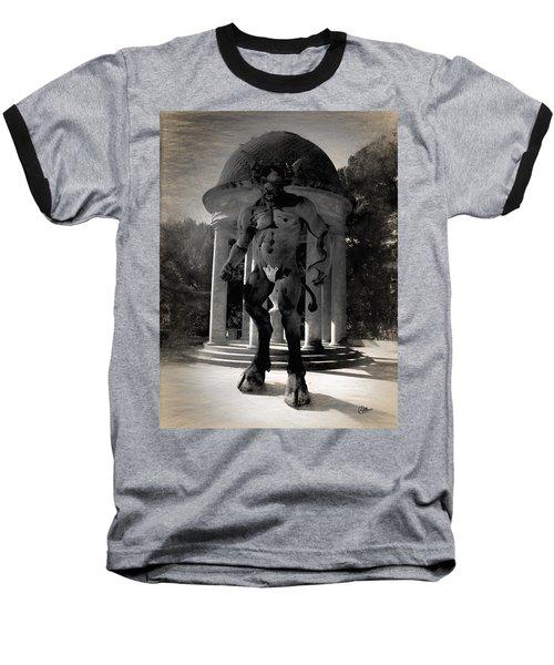 The Monster Maze Baseball T-Shirt