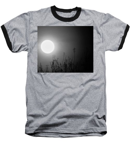 The Moon And The Stars Baseball T-Shirt by John Glass