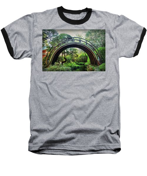 The Moon Bridge Baseball T-Shirt
