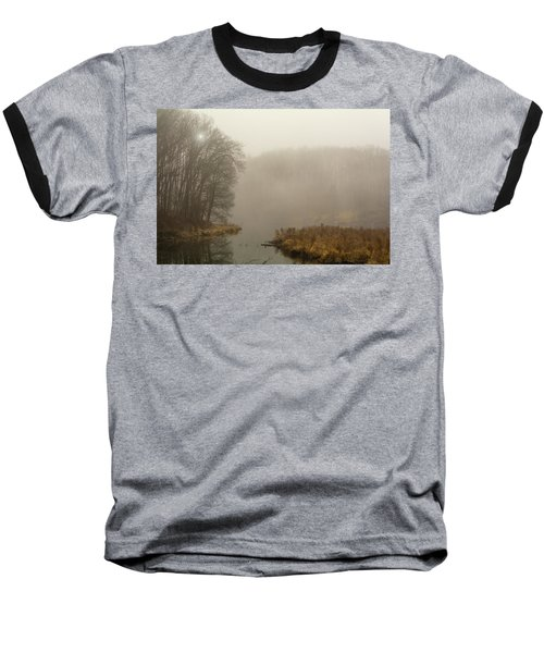 The Morning After Baseball T-Shirt by Angelo Marcialis