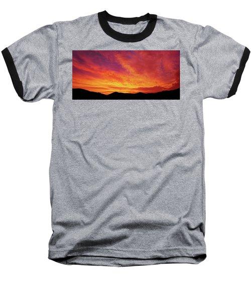 The Morning Sky Ablaze Baseball T-Shirt