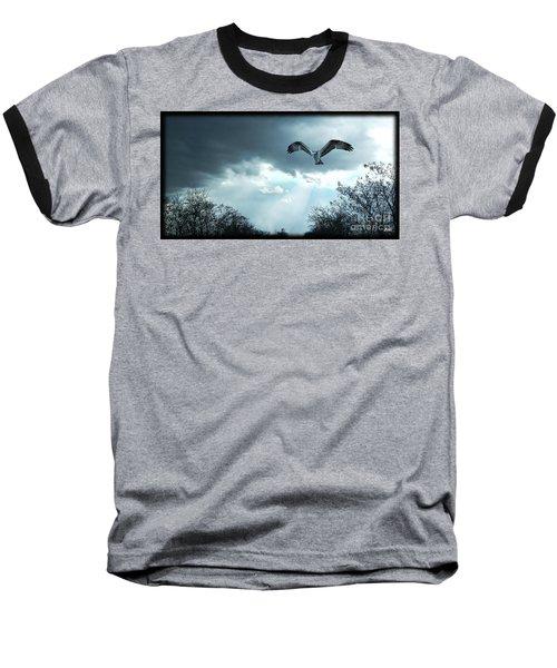 The Hawk Baseball T-Shirt by Zedi