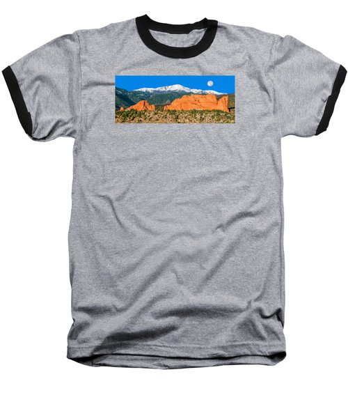 The Most Popular City Park In The U.s. Baseball T-Shirt by Bijan Pirnia