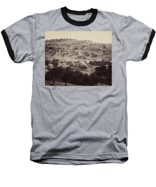 The Mount Of Olives And Garden Of Gethsemane Baseball T-Shirt