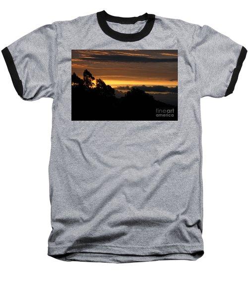 The Mountain At Sunrise Baseball T-Shirt