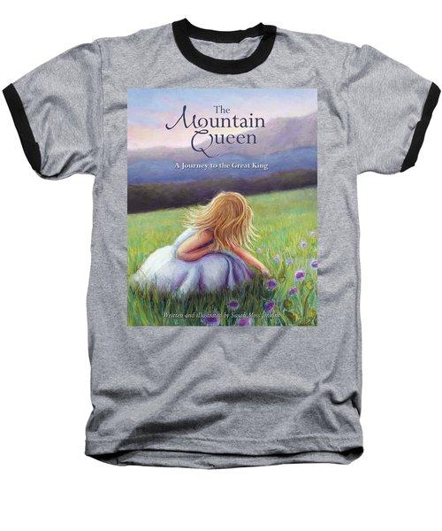 The Mountain Queen Book Cover Baseball T-Shirt