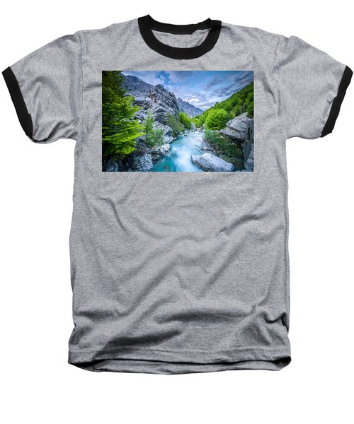 The Mountain Spring Baseball T-Shirt