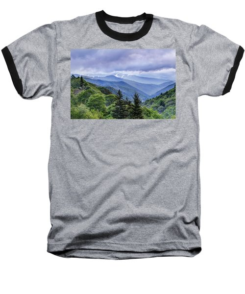 The Mountains Of Great Smoky Mountains National Park Baseball T-Shirt