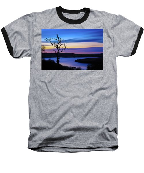 The Naked Tree At Sunrise Baseball T-Shirt by Semmick Photo