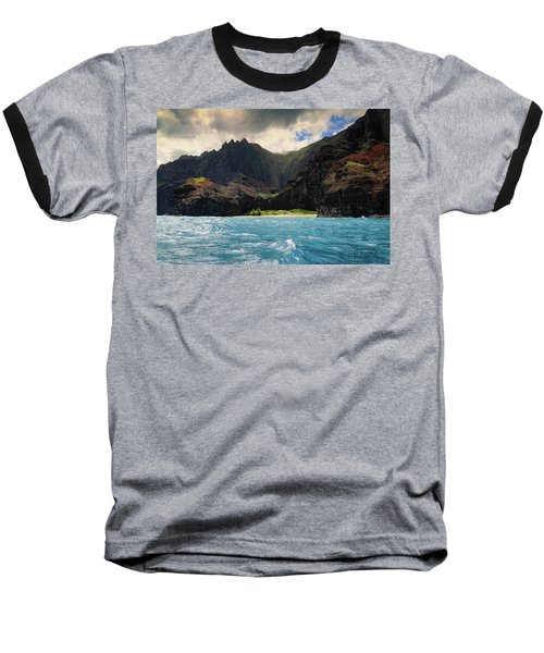 The Napali Coast Baseball T-Shirt