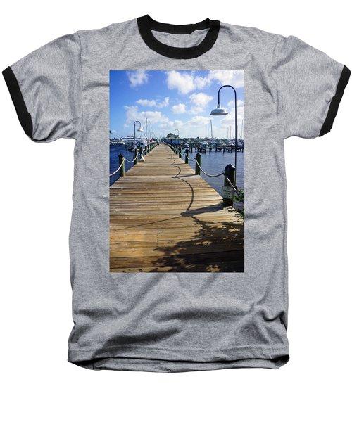 The Naples City Dock Baseball T-Shirt