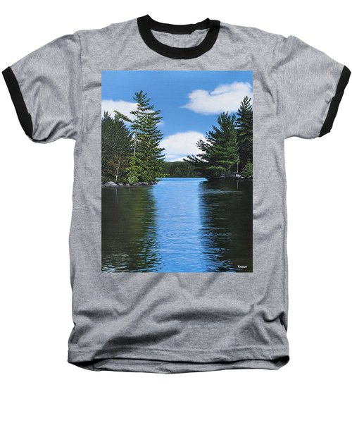 The Narrows Of Muskoka Baseball T-Shirt