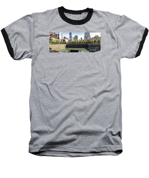 The National September Memorial Museum Baseball T-Shirt by Perry Van Munster