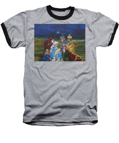 The Nativity Baseball T-Shirt