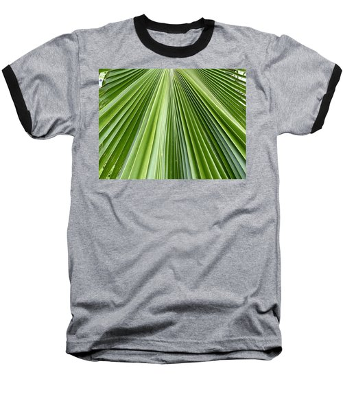 The Nature Of My Abstraction Baseball T-Shirt by Russell Keating