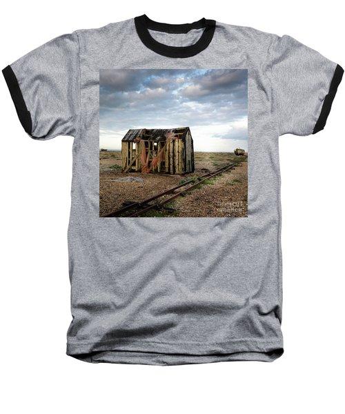 The Net Shack, Dungeness Beach Baseball T-Shirt