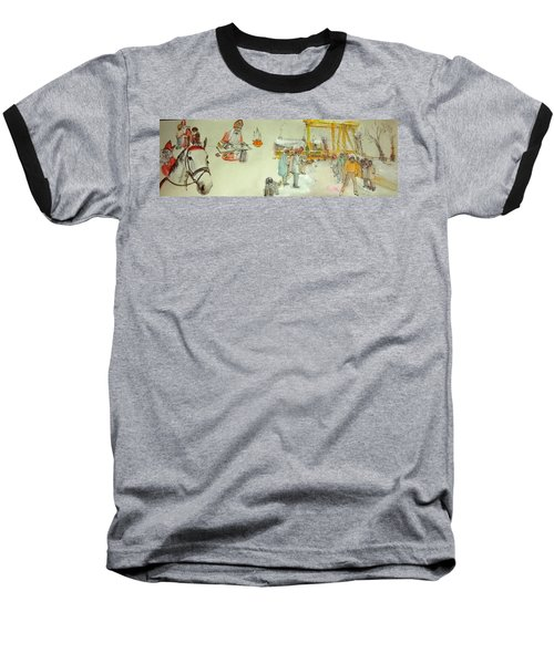 the Netherlands scroll Baseball T-Shirt