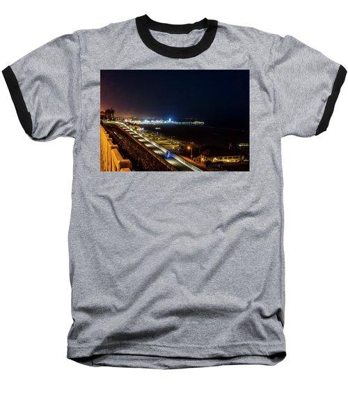 The New California Incline - Night Baseball T-Shirt