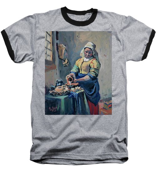 The New Milkmaid Baseball T-Shirt by Nop Briex