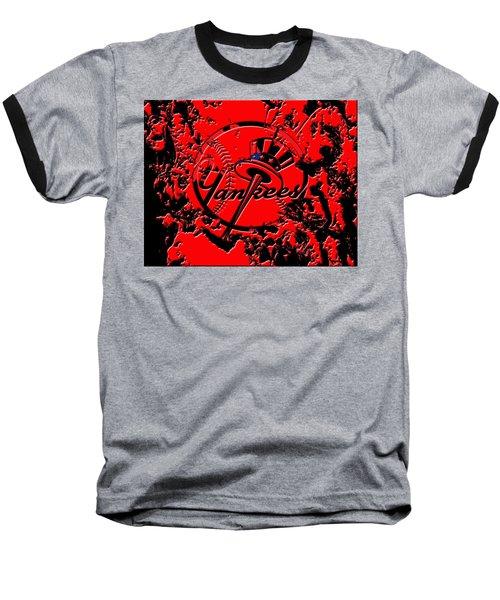 The New York Yankees B1 Baseball T-Shirt by Brian Reaves
