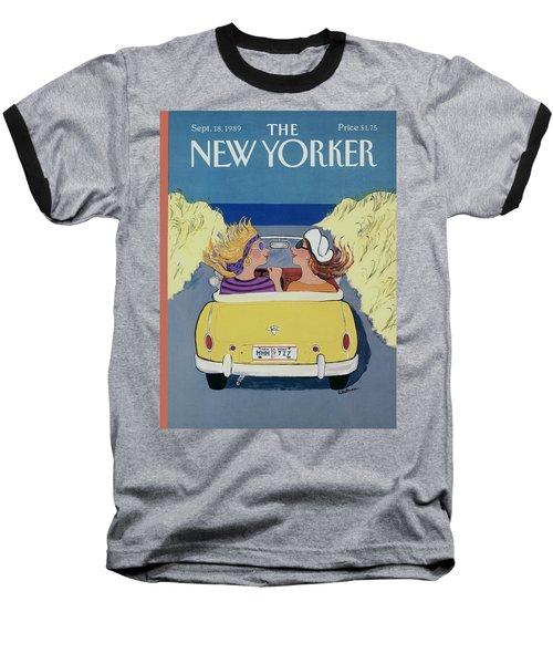 The New Yorker Cover - September 18th, 1989 Baseball T-Shirt