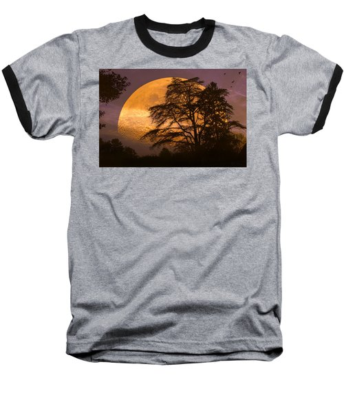 The Night Is Calling Baseball T-Shirt