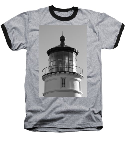 Baseball T-Shirt featuring the photograph The Night Light by Laddie Halupa