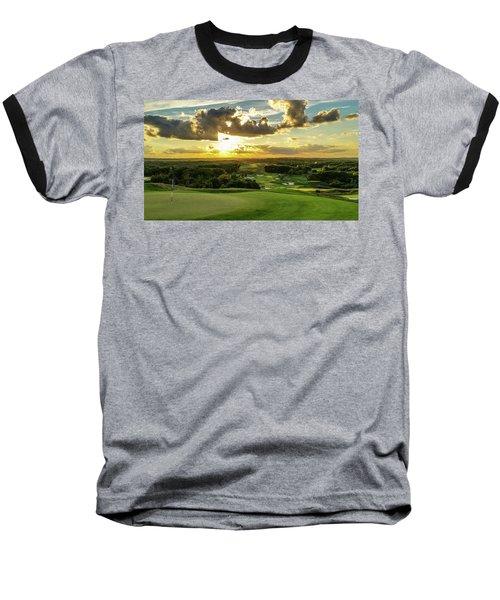 The Ninth Hole II Baseball T-Shirt