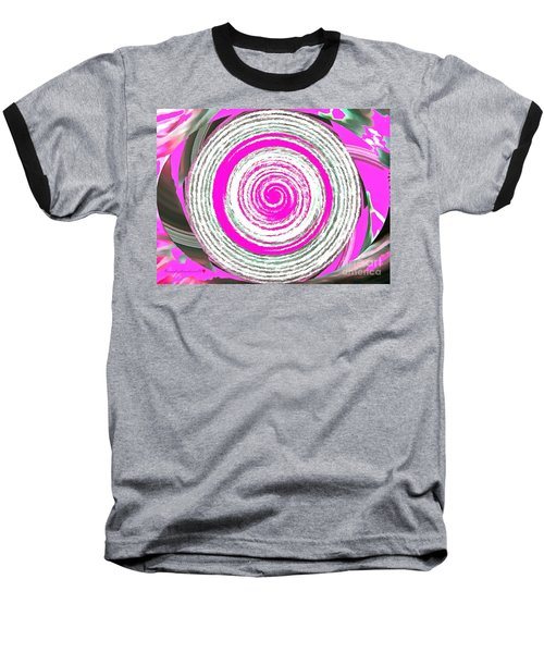 Baseball T-Shirt featuring the painting The Noise by Catherine Lott