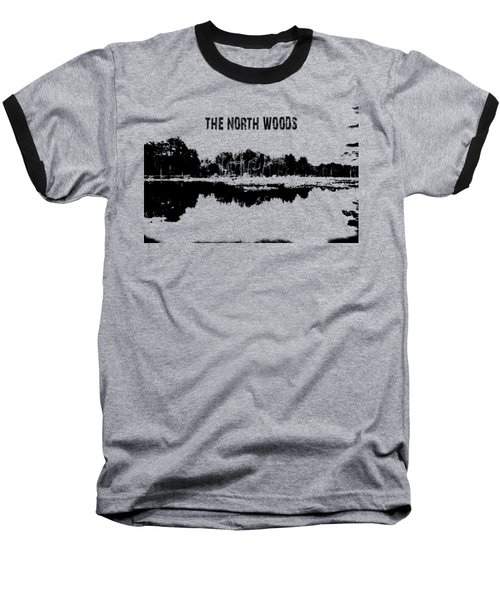 The North Woods Baseball T-Shirt by Mim White