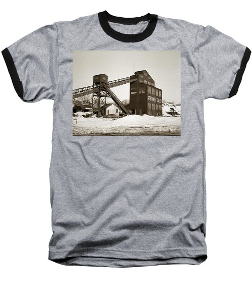 The Northwest Coal Company Breaker Eynon Pennsylvania 1971 Baseball T-Shirt